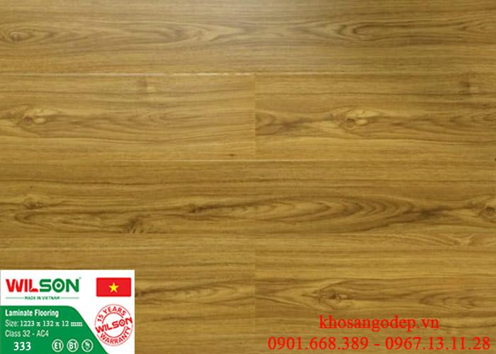 Sàn gỗ Wilson 333 tại Hải Phòng