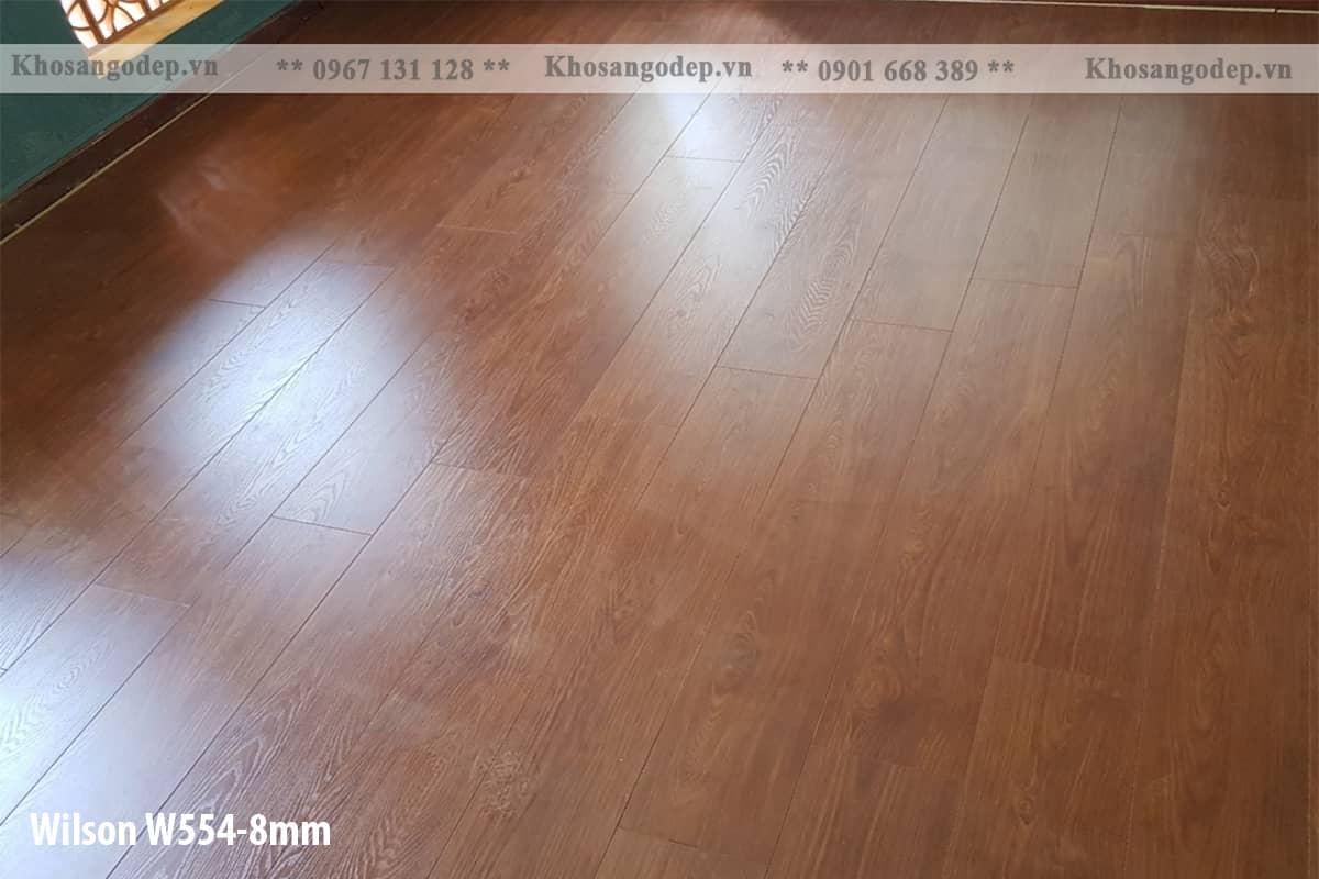 Sàn gỗ Wilson 8mm W554