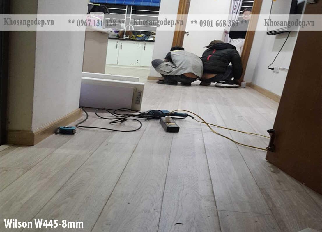 Sàn gỗ Wilson tại Nam ĐỊnh