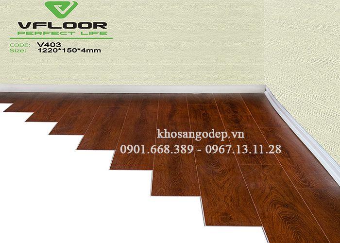 Sàn nhựa Vfloor V403 4mm