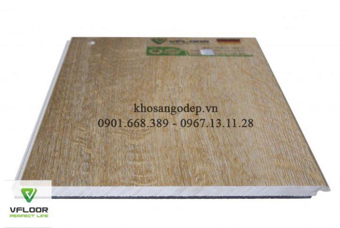 sàn nhựa hèm khóa Vfloor V405 4mm