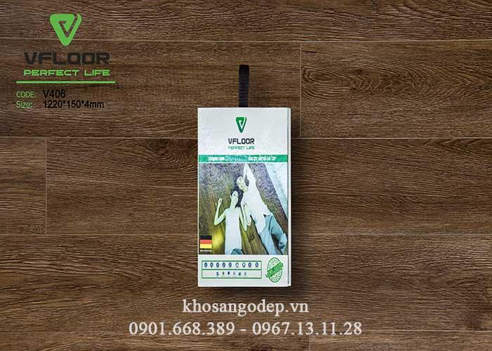 Sàn nhựa cao cấp Vfloor V406