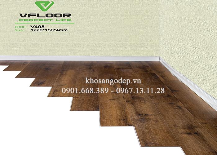 Sàn nhựa Vfloor V408