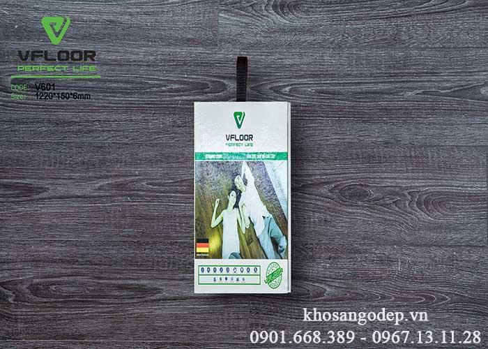 Sàn nhựa Vfloor V601 6mm