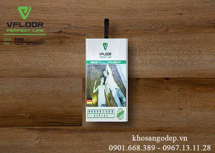 Sàn nhựa giả gỗ Vfloor V605