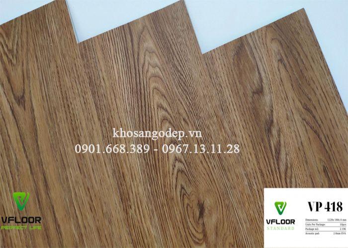 Sàn nhựa Vfloor Standard VP 418
