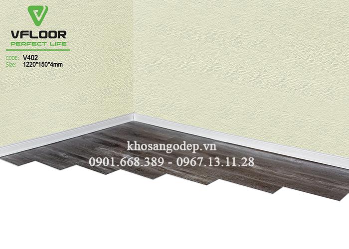 Mẫu sàn nhựa Vfloor V402