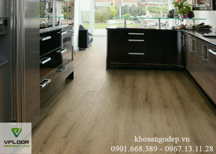 Sàn nhựa giả gỗ Vfloor V408