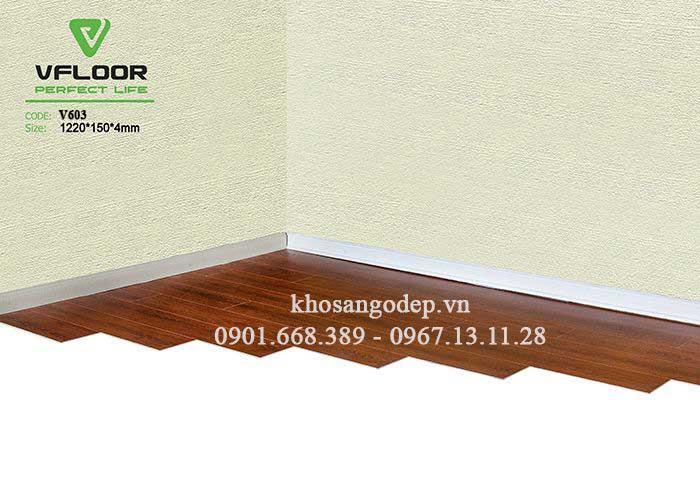 Sàn nhựa giả gỗ Vfloor V603