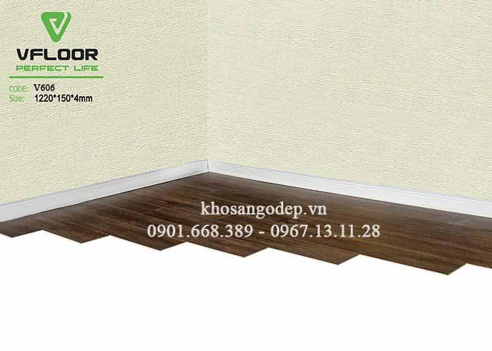 Sàn nhựa giả gỗ Vfloor V606