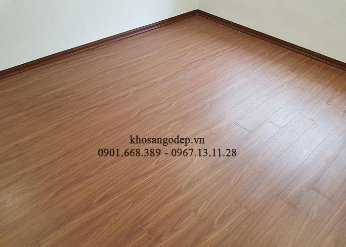 Thi công sàn gỗ Savi tại Thanh Xuân