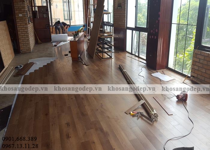 Sàn gỗ giá rẻ tại Hà Đông Hà Nội