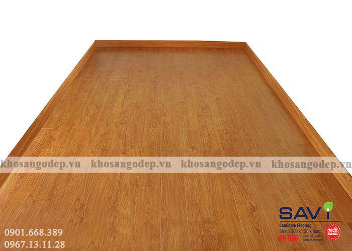 Sàn gỗ công nghiệp giá rẻ tại Bắc Ninh