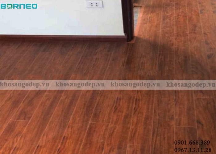 Sàn gỗ Borneo BN08 tại Hoàng Mai Hà Nội