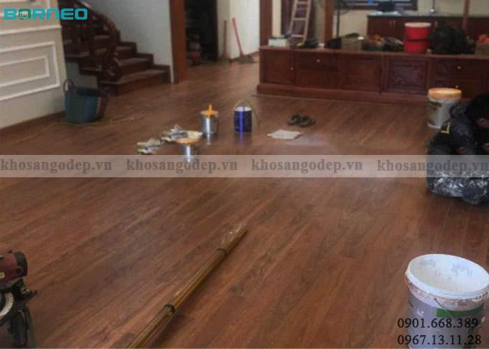 Sàn gỗ Malaysia Borneo BN08