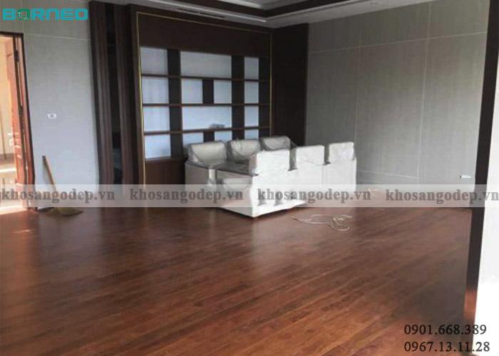 Sàn gỗ Borneo BN08 tại Hà Nội