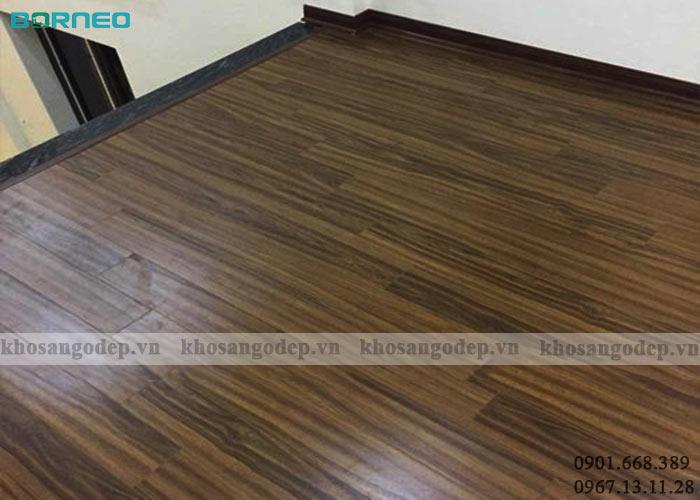 Sàn gỗ Borneo BN09 tại Thanh Hà Hà Nội