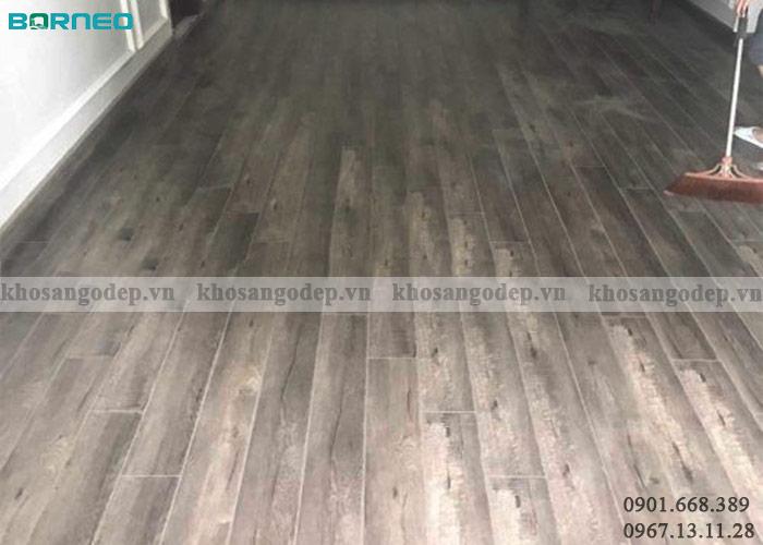 Sàn gỗ Borneo BN26 tại Hà Nội
