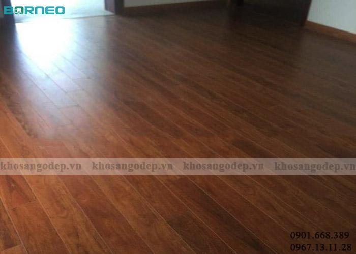 Sàn gỗ Borneo BN08 tại Thanh Trì Hà Nội
