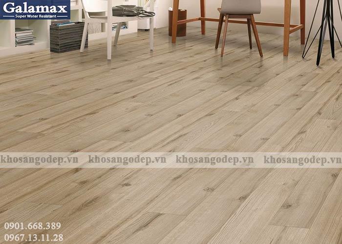 Sàn gỗ Galamax 8mm bản nhỏ