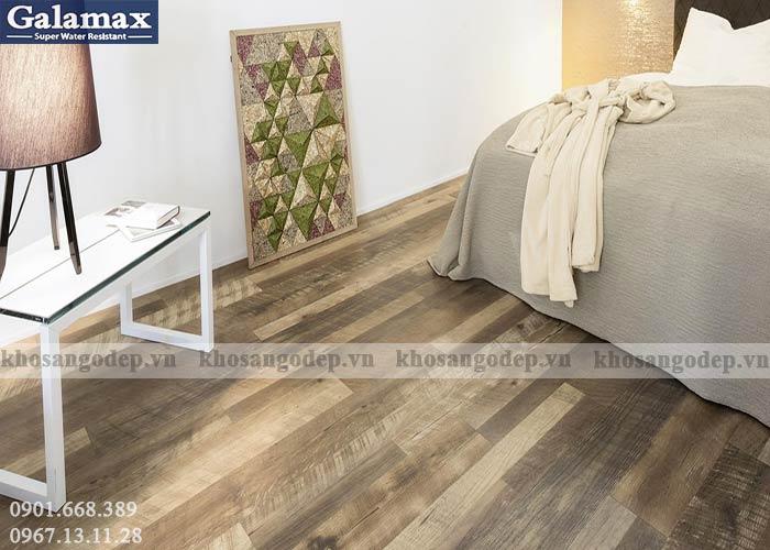 Sàn gỗ Galamax 8mm bản to