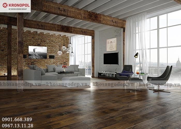 Sàn gỗ Kronopol 12mm bản nhỏ