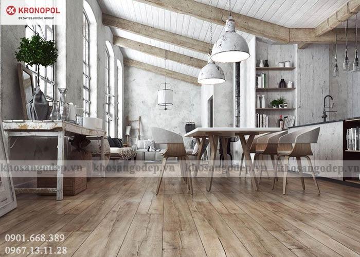 Sàn gỗ Kronopol 12mm