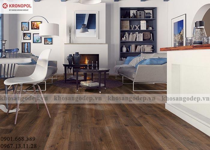 Sàn gỗ Kronopol tại Hải Phòng