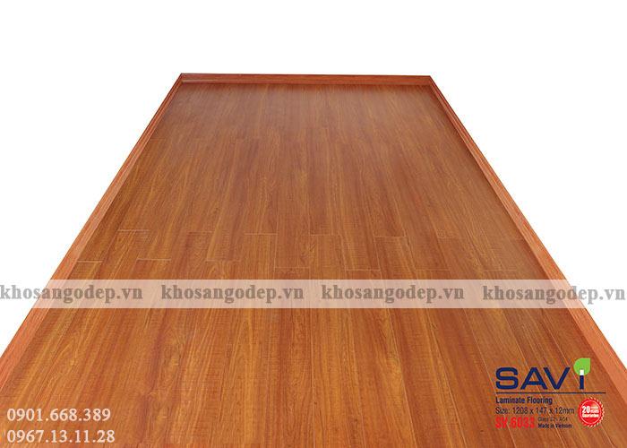 Sàn gỗ Việt Nam 12mm