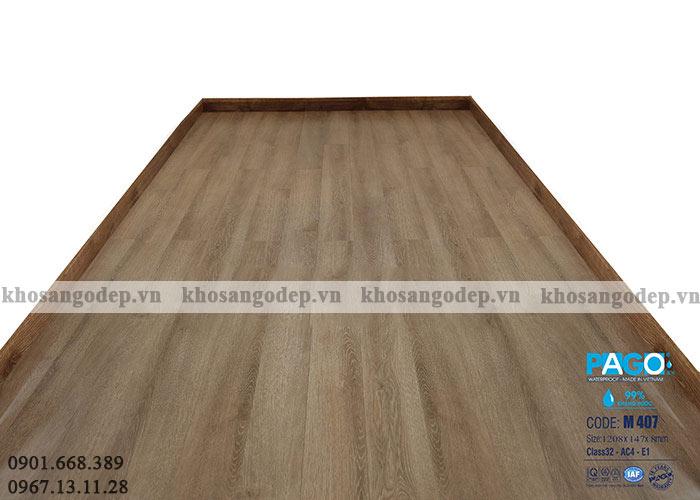 Sàn gỗ Việt Nam cốt xanh