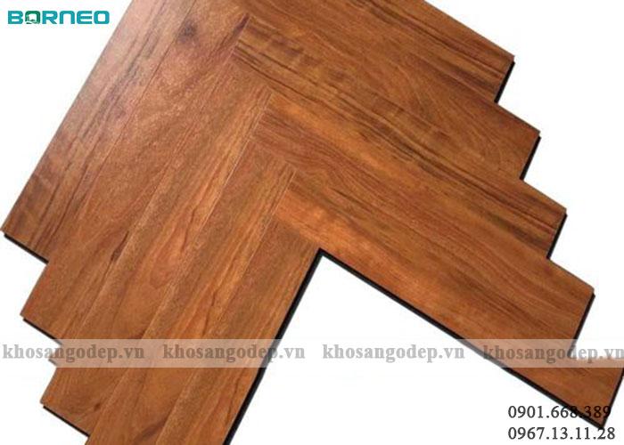 Sàn gỗ xương cá Borneo Bn19703
