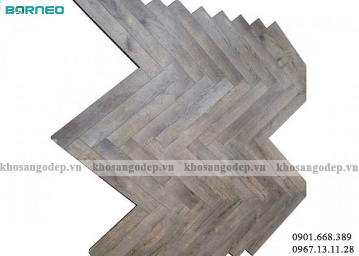 Sàn gỗ xương cá Borneo BN19707 tại Hà Nội