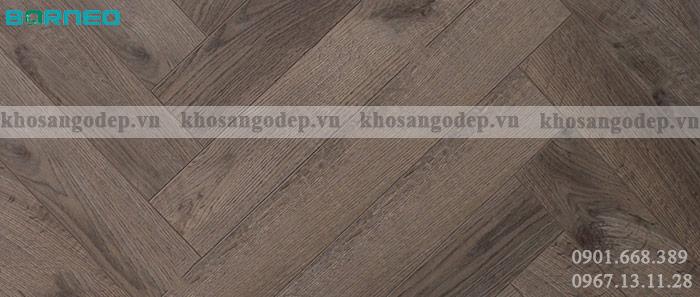 Sàn gỗ xương cá Borneo BN19707