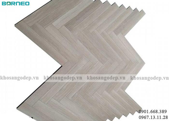Sàn gỗ Borneo Xương cá Bn19710