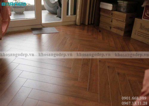 Sàn gỗ xương cá Borneo tại Hải Phòng