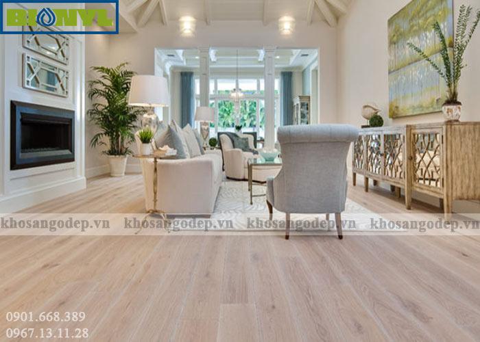 Ưu điểm sàn gỗ Binyl
