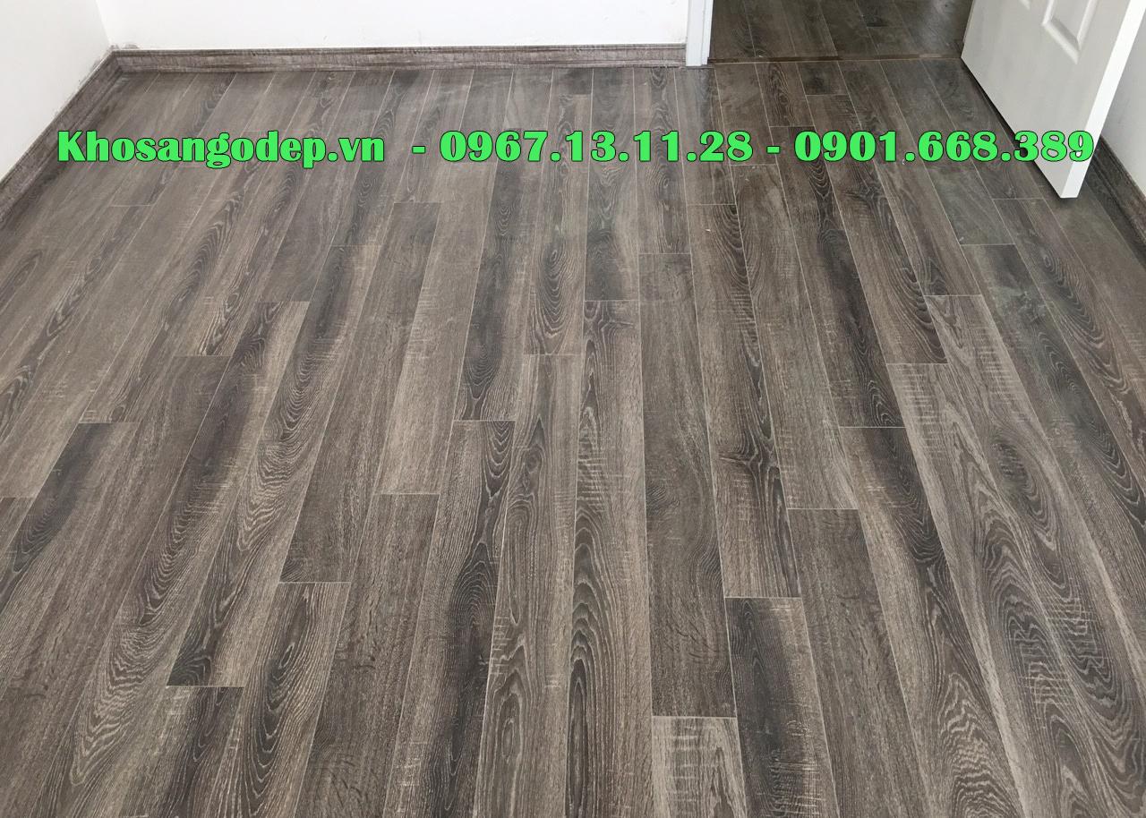 Sàn gỗ Pioner cốt xanh, cốt đen sần theo vân eir cao cấp