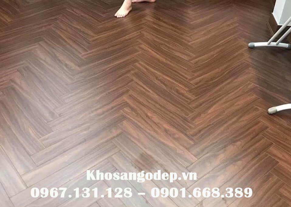 sàn gỗ xương cá pioner