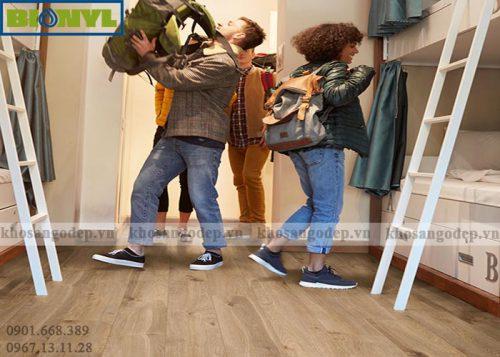 Sàn gỗ Binyl Pro 12mm BT1523