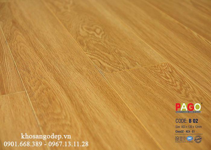 Sàn gỗ PAGO B02