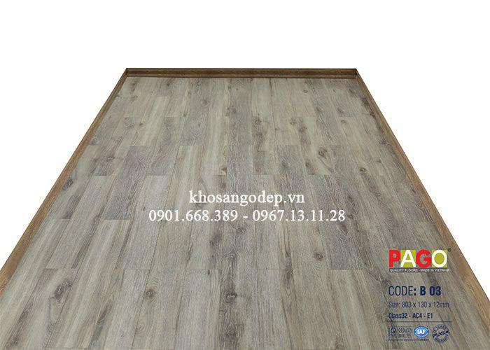Sàn gỗ Pago B03 – 12mm