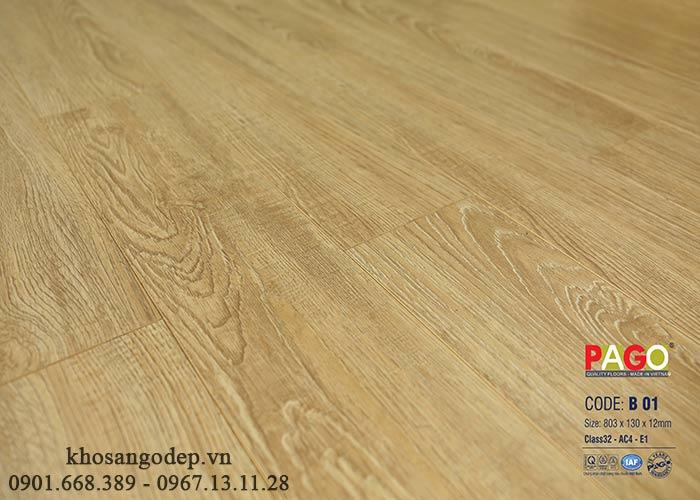 Sàn gỗ PAGO B01