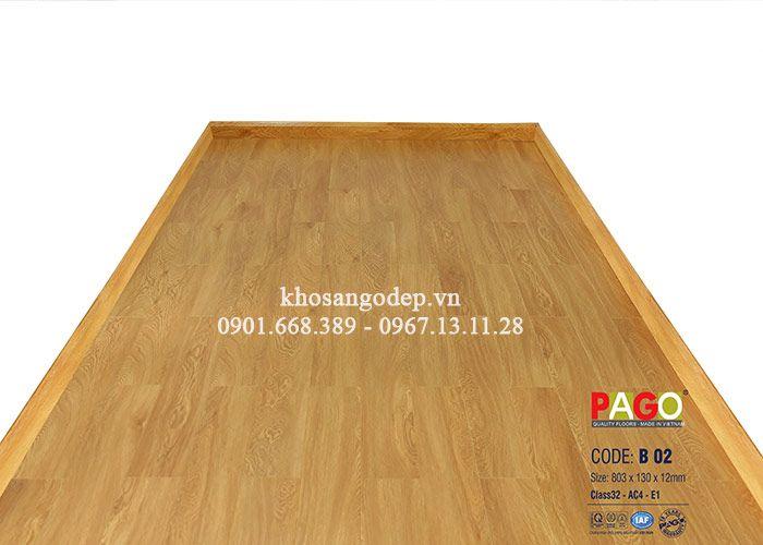 Sàn gỗ công nghiệp Pago B02