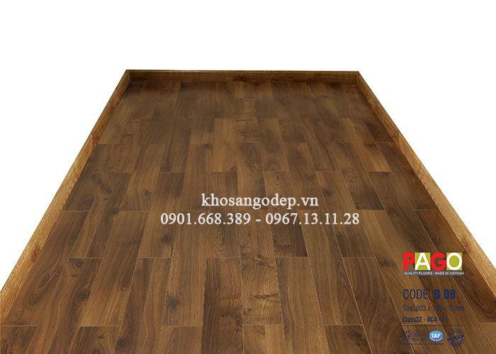 Sàn gỗ công nghiệp Pago B08