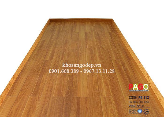 Sàn gỗ PAGO tại Vĩnh Phúc