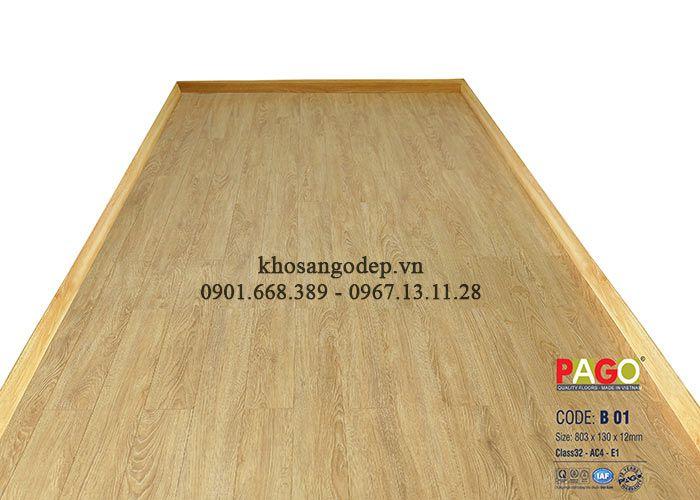 Sàn gỗ PAGO B01 -12mm