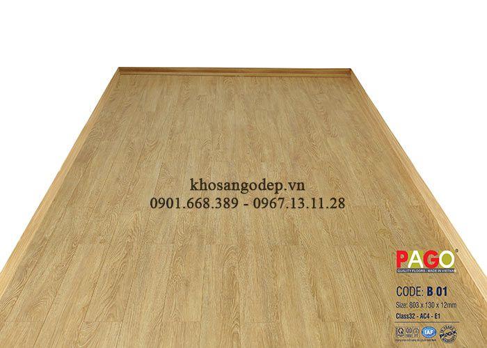 Sàn gỗ PAGO 12mm B01