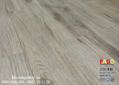 Sàn gỗ công nghiệp Pago B03