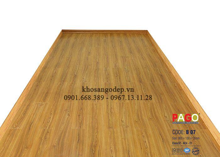 Sàn gỗ công nghiệp Pago B07