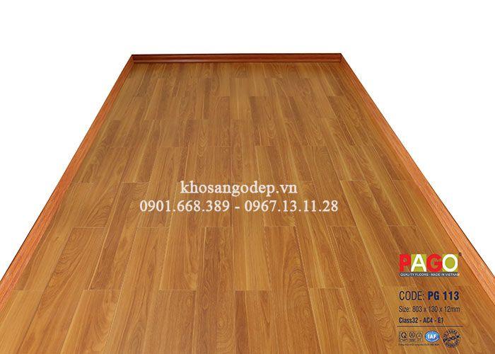 Sàn gỗ công nghiệp Pago PG113